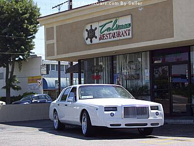 Lincoln Town Car Front Body Kit